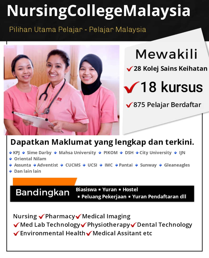 Bandingkan Kolej Kolej Kejururawatan Nursing College Malaysia